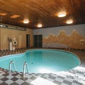 Swimming pool at Canadas Best Value Inn & Suites Fernie