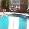 Swimming pool at Canal Park Lodge