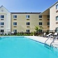 Swimming pool at Candlewood Suites Savannah Airport