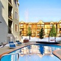 Swimming pool at Carriage House Condominiums by All Seasons Resort Lodging