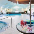Swimming pool at Carriage Ridge Resort at Horseshoe Valley