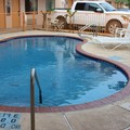 Swimming pool at Casa Rosa Motel