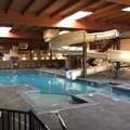 Swimming pool at Cascades Mountain Resort