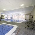 Swimming pool at Causeway Bay Lansing Hotel & Convention Cente