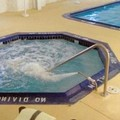 Swimming pool at Charlevoix Inn & Suites
