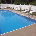 Swimming pool at Chatham Highlander Motel