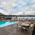 Swimming pool at Chautauqua Harbor Hotel