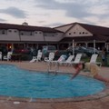 Swimming pool at Cherry Lane Motor Inn