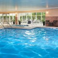 Swimming pool at Chicago Marriott Southwest at Burr Ridge