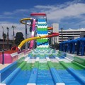 Swimming pool at Circus Circus