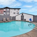 Swimming pool at Clackamas Inn & Suites