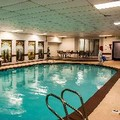 Swimming pool at Clarion Hotel Seatac