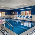 Swimming pool at Clarion Inn