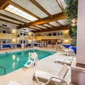 Swimming pool at Clarion Inn & Suites