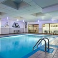 Swimming pool at Clarion Quebec