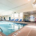 Swimming pool at Clarion Suites at the Alliant Energy Center