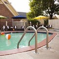 Swimming pool at Cloverleaf Suites Kansas City Overland Park