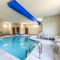 Swimming pool at Cobblestone Hotels & Suites Wissota Chophouse Stevens Point