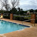 Swimming pool at Cochran Inn & Suites