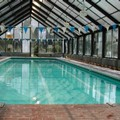 Swimming pool at Colonial Motel & Spa