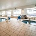 Swimming pool at Comfort Inn