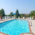 Swimming pool at Comfort Inn Blacksburg