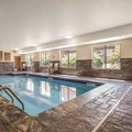 Swimming pool at Comfort Inn La Porte