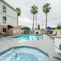 Swimming pool at Comfort Inn Plant City