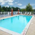 Swimming pool at Comfort Inn Staunton