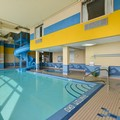 Swimming pool at Comfort Inn & Suites Calgary Airport South