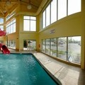 Swimming pool at Comfort Inn & Suites Langley / Aldergrove