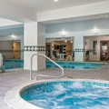 Swimming pool at Comfort Inn & Suites St. Johnsbury