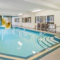 Swimming pool at Comfort Inn & Suites University Calgary