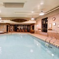 Swimming pool at Comfort Inn Toronto Northeast