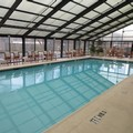 Swimming pool at Comfort Inn University Center