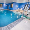 Swimming pool at Comfort Suites Altoona