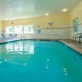 Swimming pool at Comfort Suites Hotel Springfield Oregon