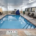 Swimming pool at Comfort Suites Kansas City Liberty