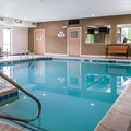 Swimming pool at Comfort Suites North