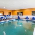 Swimming pool at Comfort Suites North (Newly Renovated)