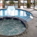 Swimming pool at Comfort Suites Parkersburg South