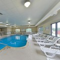Swimming pool at Comfort Suites Springfield