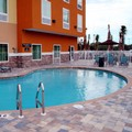 Swimming pool at Comfort Suites Tampa Fairgrounds Casino