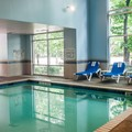 Swimming pool at Comfort Suites West of The Ashley