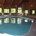 Swimming pool at Country Hearth Inn Fulton