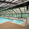 Swimming pool at Courtyard Elmhurst
