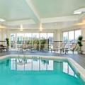 Swimming pool at Courtyard Yonkers Westchester County