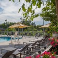 Swimming pool at Courtyard by Marriott Chevy Chase