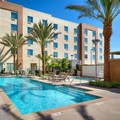 Swimming pool at Courtyard by Marriott Lax Hawthorne