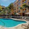 Swimming pool at Courtyard by Marriott Miami Aventura Mall